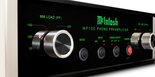 Afbeelding Mc Intosh MP100 phonoversterker